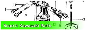 Buy Kawasaki Parts - Motorcycle, ATV, More