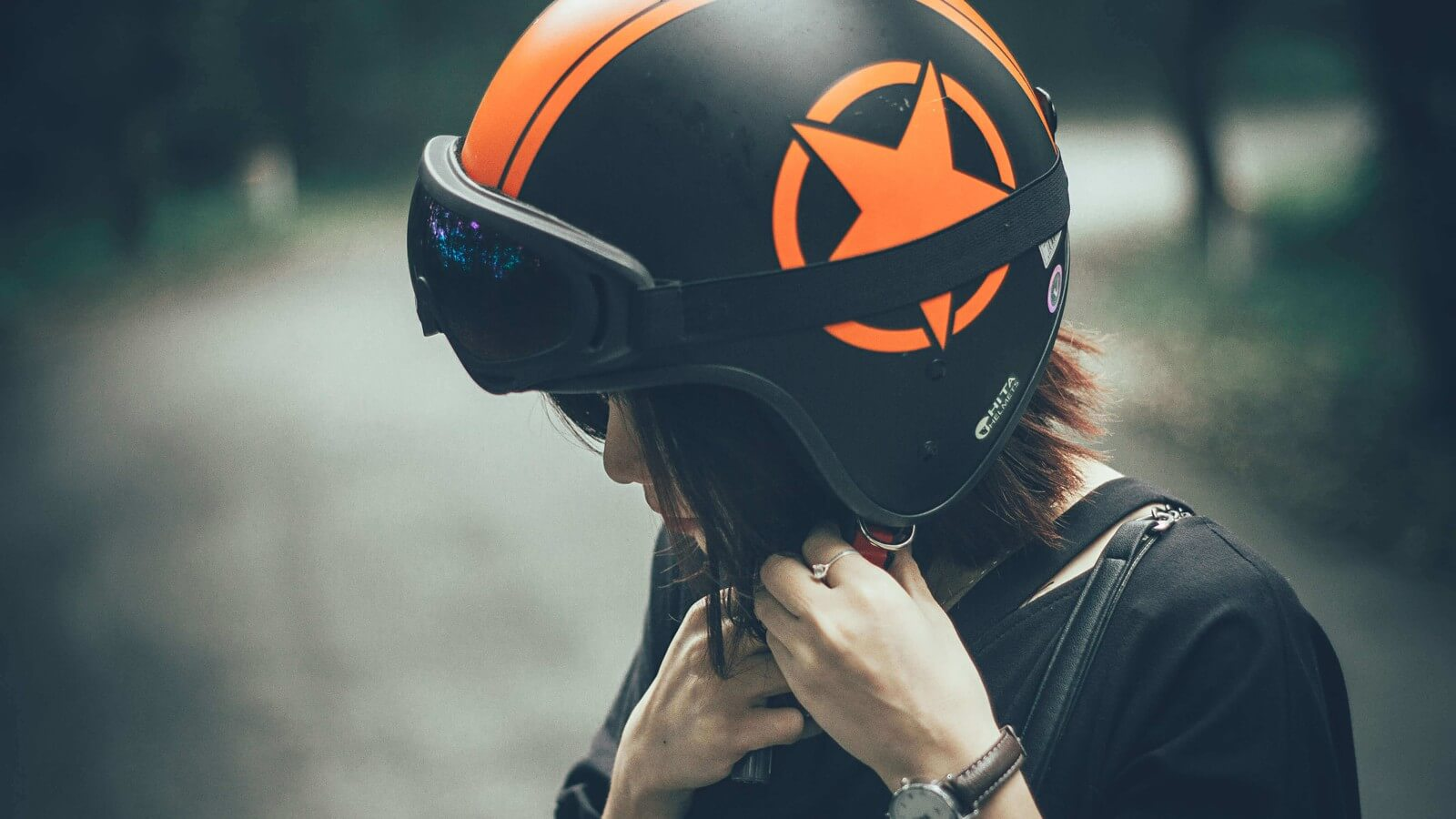 Safety Guidelines in Motorcycle Helmets